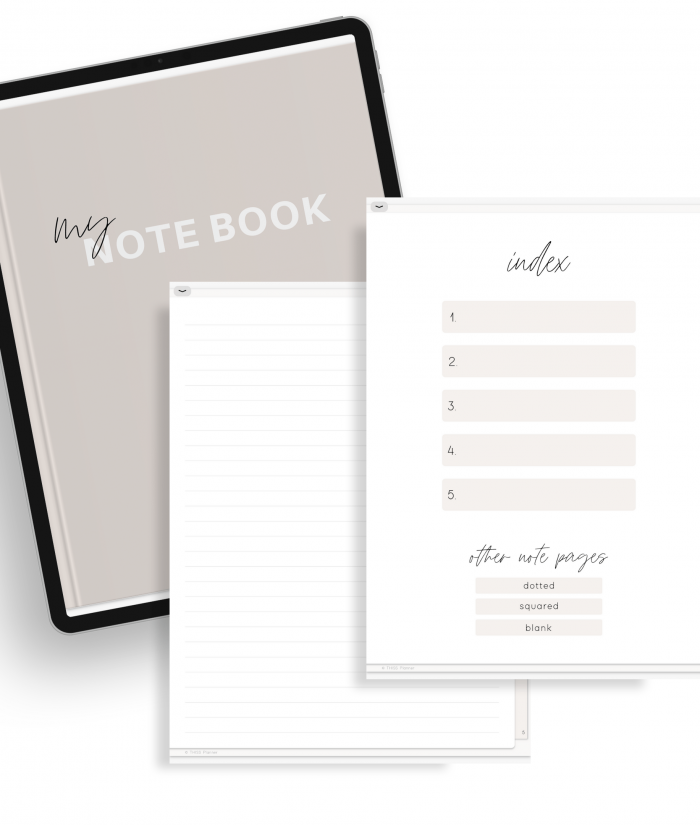 FREE DIGITAL NOTEBOOK