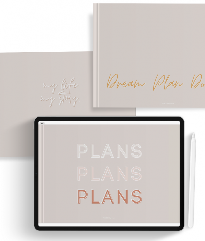 free digital planner cover 01