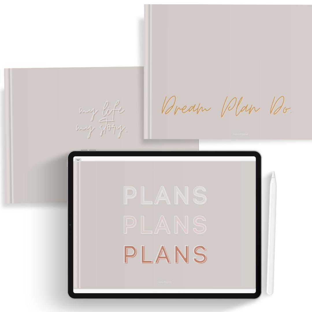 free digital planner cover 01